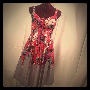 Evan-Picone Floral Sun Dress